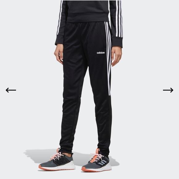 Adidas black track pants